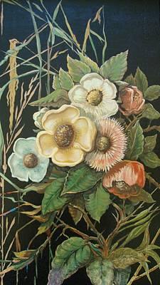 Wall Art - Painting - Wildflowers by Ralf Glasz
