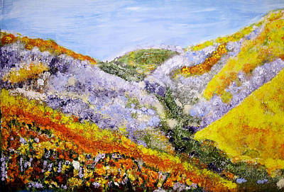 Painting - Wildflowers by Shelley Bain