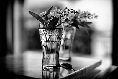 Coke Photograph - Wildflowers Still Life by Laura Fasulo