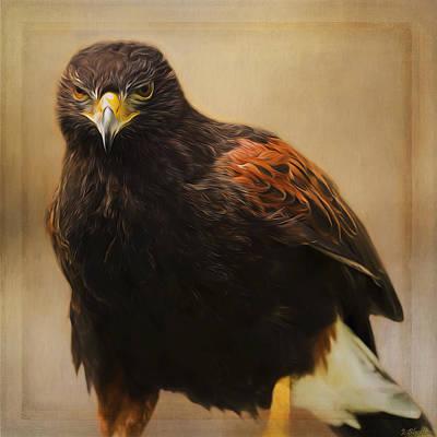 Jordan Painting - Wildlife Art - Patience And Perseverance by Jordan Blackstone
