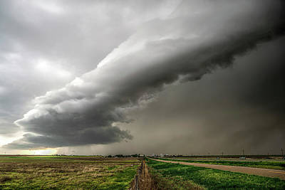 Photograph - Wildorado Storm by Scott Cordell