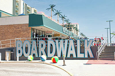 Photograph - Wildwood Boardwalk by Kristia Adams