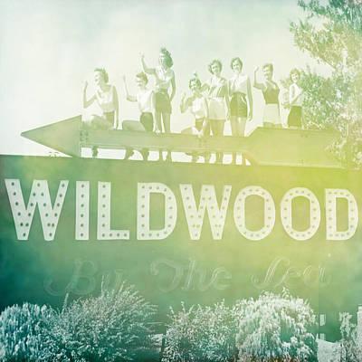 Nj Digital Art - Wildwood By The Sea Nj by Brandi Fitzgerald