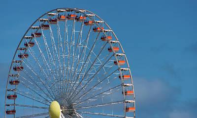 Wildwood Ferris Wheel Art Print