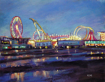 Painting - Wildwood Nights by Karen Margulis