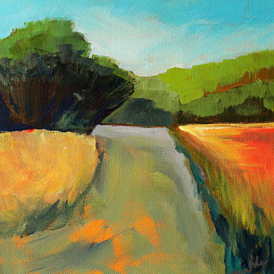 Painting - Wildwood Road by Nancy Merkle