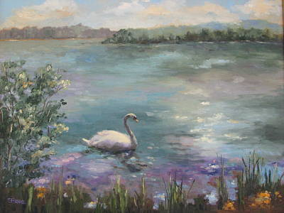 Painting - Wildwood Serenity by Sharon Franke