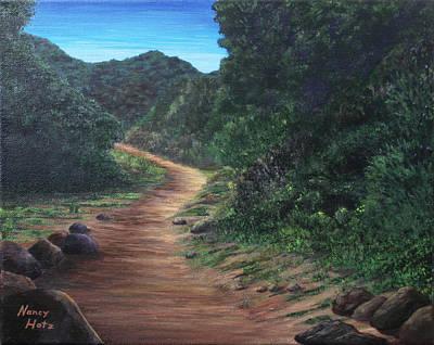 Painting - Wildwood Trail by Nancy Hotz