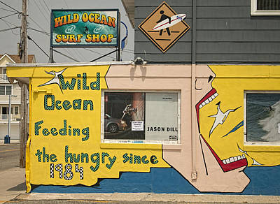 Photograph - Wildwood Wild Ocean Surf Shop by Kristia Adams