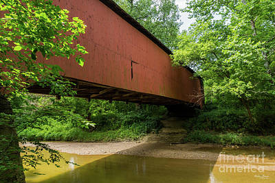 Photograph - Wilkens Mill Covered Bridge by Jennifer White