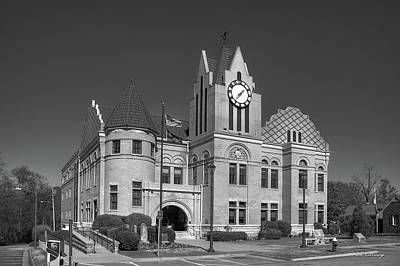 Photograph - Wilkes County Courthouse 2 Art by Reid Callaway