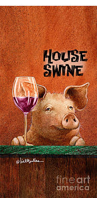 Painting - Will Bullas Phone Cover / House Swine by Will Bullas