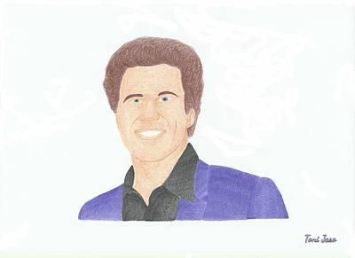 Will Ferrell Drawing - Will Ferrell by Toni Jaso