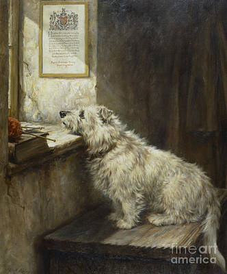 Missing Painting - Will He Come Back by Robert Morley