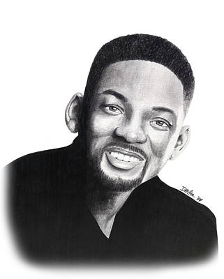 Drawing - Will Smith by Devin Millington