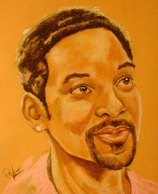 Will Smith Print by Sandra Valentini