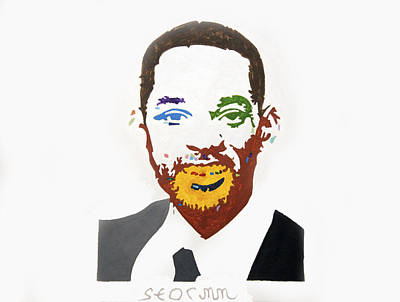 Negro Painting - Will Smith by Stormm Bradshaw