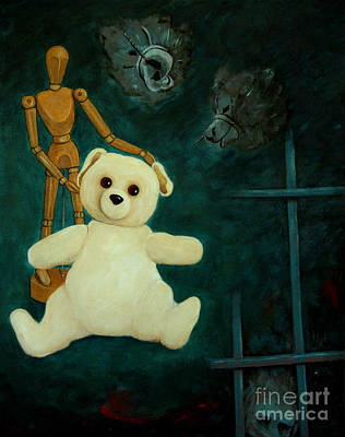 Painting - Will The Real Bear Please Stand Up by Nareeta Martin