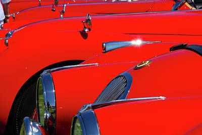 Photograph - Will The Owner Of The Red Car by John Schneider
