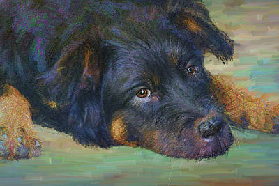 Painting - Will You Play With Me? by Angela Stanton