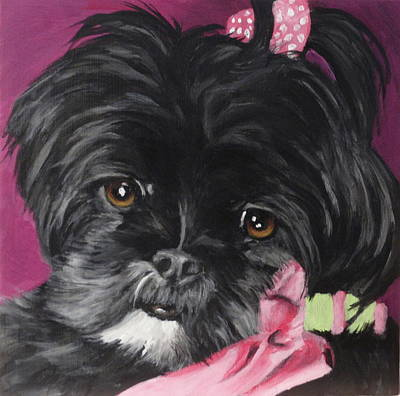 Painting - Willa by Carol Russell