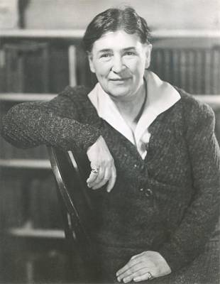 Willa Cather At The Time She Wrote Lucy Art Print by Everett