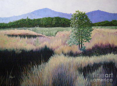 Painting - Willamette Evening Shadows by Lynn Quinn
