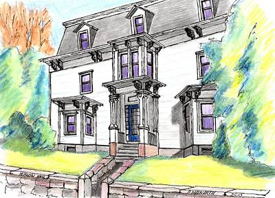 Willard Hall Danvers Art Print by Paul Meinerth