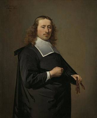 Painting - Willem Jacobsz Baert 1636-84, Burgomaster Of Alkmaar And Amsterdam, Caesar Boetius Van Everdingen, 1 by Celestial Images