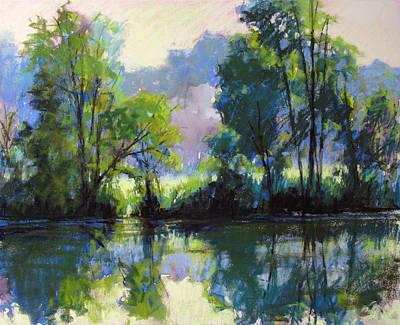 Painting - Willeo Park Misty by Marsha Savage