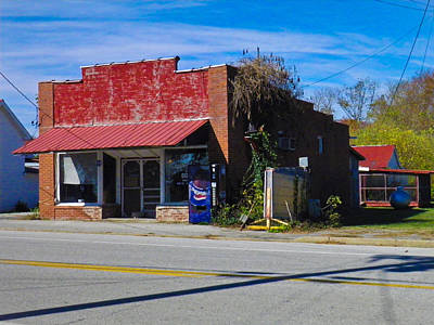 Photograph - Willette Store by Nick Kirby