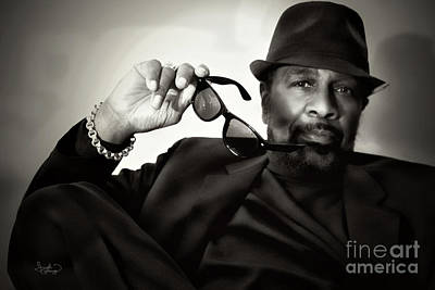 Photograph - William Bell Relaxed by Ginette Callaway