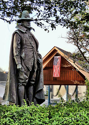 Photograph - William Bradford Governor by Janice Drew