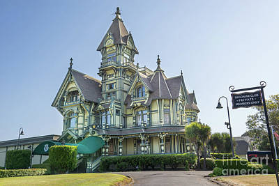 Photograph - William Carson Mansion Victorian Eureka California Dsc5410 by Wingsdomain Art and Photography