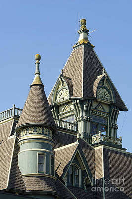 Photograph - William Carson Mansion Victorian Eureka California Dsc5417 by Wingsdomain Art and Photography