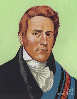 Painting - William Clark by Ron Embleton