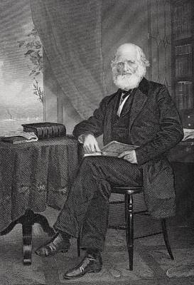 William Cullen Bryant 1794 1878 Art Print by Vintage Design Pics
