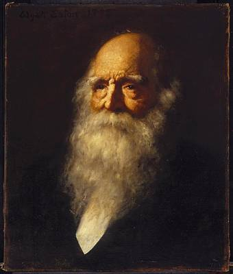 William Cullen Bryant Art Print by MotionAge Designs