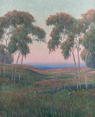 Painting - William Dorsey American B. 1942 Dawn On The Coast by Celestial Images