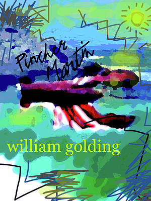 William Golding Poster  Art Print
