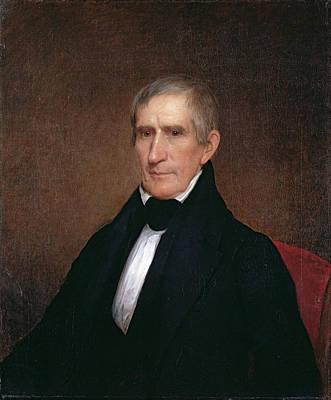 Gallatin Painting - William Henry Harrison by Albert Gallatin Hoit