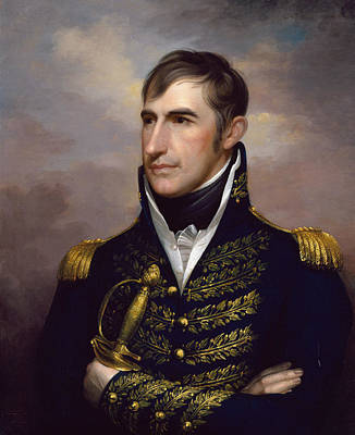 William Henry Harrison Art Print by Rembrandt Peale
