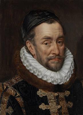 Painting - William I, Prince Of Oranje, Adriaen Thomasz. Key, C. 1579 by Celestial Images