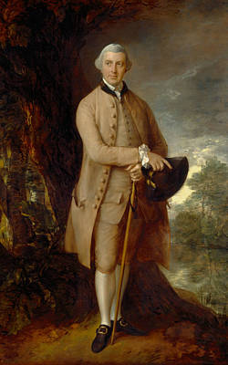 Painting - William Johnstone Pulteney Later 5th Baronet by Thomas Gainsborough