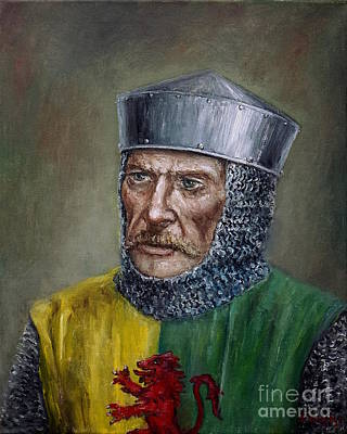 Painting - William Marshal by Arturas Slapsys