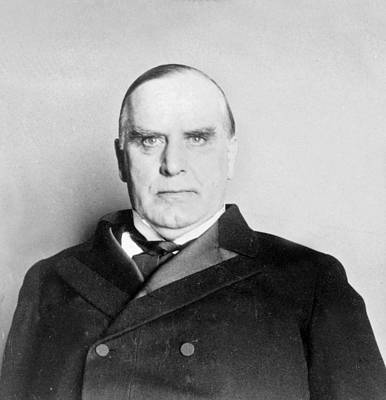U S Presidents Photograph - William Mckinley - President Of The United States Of America - C 1898 by International  Images