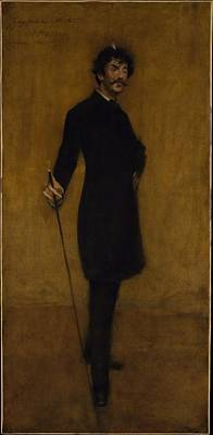 Whistler Painting - William Merritt Chase by MotionAge Designs