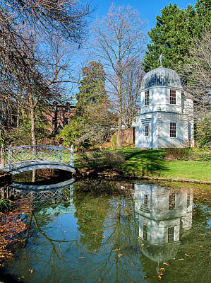 Reflection Photograph - William Paca House And Garden by Steven Richman