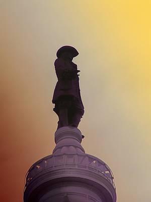 Quaker Digital Art - William Penn by Bill Cannon