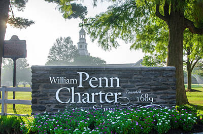 Photograph - William Penn Charter School by Bill Cannon
